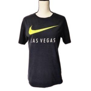 NIKE Black Las Vegas Neon Yellow T-shirt